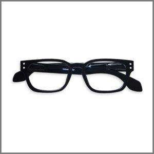 Lunettes de lecture pour presbytes M1611 (KP266-P22 B-BK-R24-C) , lunettes loupes forme ronde et design pour homme et femme